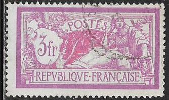 France 129 Used - Liberty & Peace