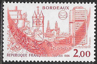 France 1933 MNH - ‭French Philatelic Societies Congress, Bordeaux