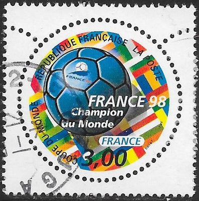 France 2628 Used - ‭1998 World Cup Soccer Championships, France