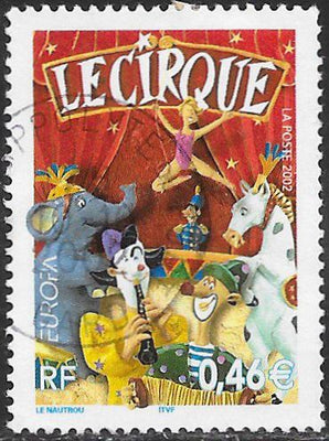 France 2877 Used - ‭Europa - Circus