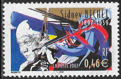 France 2910 Used - Jazz Musicians - ‭Sidney Bechet (1897-1959)