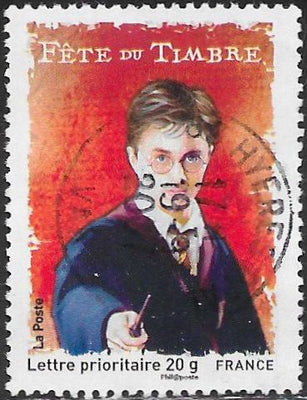 France 3303 Used - Stamp Day - Harry Potter