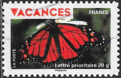 France 3668 Used - Vacations - ‭‭Monarch Butterfly