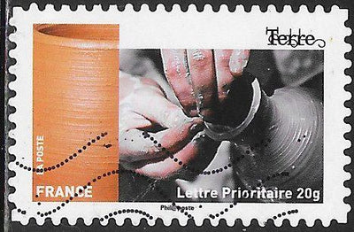 France 4735 Used - ‭Handicrafts - ‭‭Terre (Pottery Making)