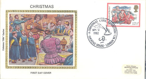 Great Britain 1006 FDC - Colorano - Christmas