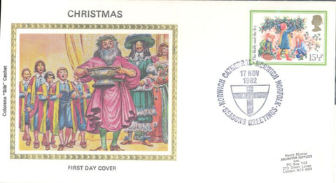 Great Britain 1007 FDC - Colorano - Christmas