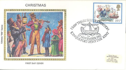 Great Britain 1008 FDC - Colorano - Christmas