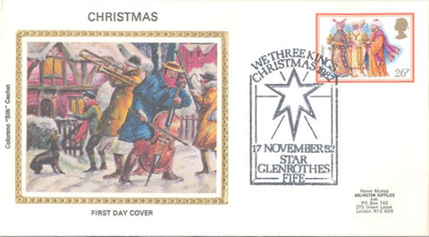 Great Britain 1009 FDC - Colorano - Christmas