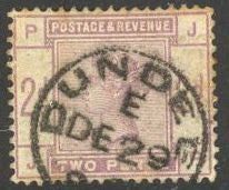 Great Britain 100 Used - Corner Crease - Victoria - Socked on the Nose