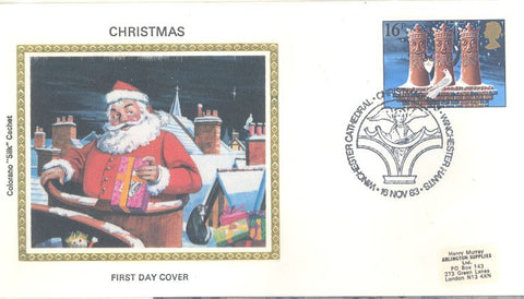 Great Britain 1036 FDC - Colorano - Christmas