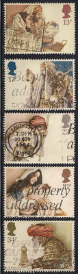 Great Britain 1088-1092 Used - Christmas