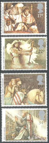 Great Britain 1115-1118 MNH - King Arthur