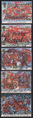Great Britain 1217-1221 Used - Spanish Armada