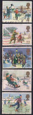 Great Britain 1340-1344 Used - Christmas