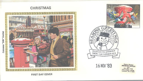 Great Britain 1035 FDC - Colorano - Christmas