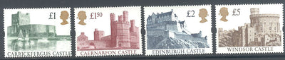 Great Britain 1445-1448 MNH - High Value Castles