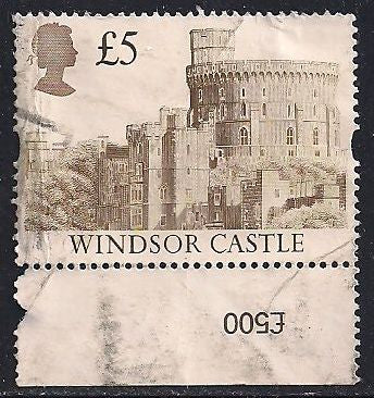 Great Britain 1448 Used - £5 Windsor Castle - Space Filler