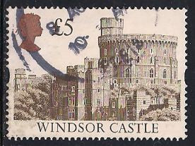 Great Britain 1448 Used - £5 Windsor Castle