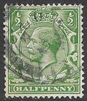 Great Britain 159 Used - George V