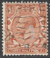 Great Britain 161 Used - George V