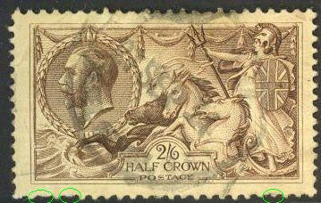 Great Britain 179 Used - Short Perf - George V