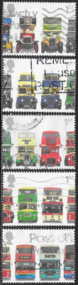 Great Britain 1972-1976 Used - Buses