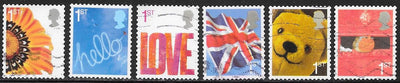 Great Britain 2314-2319 Used - Greetings