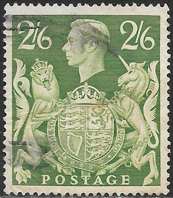 Great Britain 249A Used - George VI