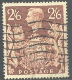 Great Britain 249 Used - George VI