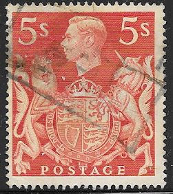 Great Britain 250 Used - George VI