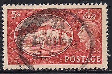 Great Britain 287 Used - George VI - White Cliffs, Dover