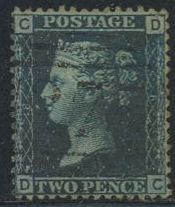 Great Britain 29 Plate 8 Used - Victoria