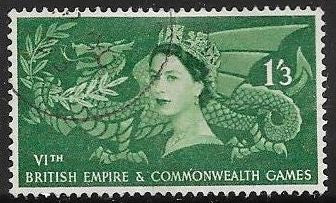 Great Britain 340 Used - Elizabeth II - Empire and Commonwealth Games, Cardiff