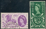 Great Britain 375-376 Used - General Letter Office