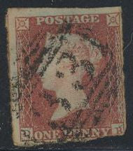 Great Britain 3 Used - Clipped - Victoria