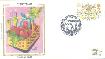 Great Britain 928 FDC - Colorano - Christmas