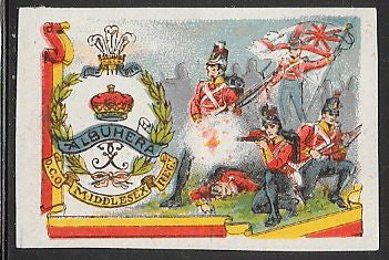 Great Britain Cinderella - Middlesex Regiment