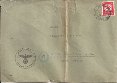 Germany O86 or O98 Cover - Forest Master