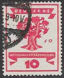 Germany 105 Used - Republic National Assembly Issue