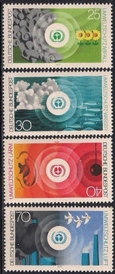 Germany 1119-1122 MNH - Environmental Protection
