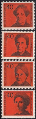 Germany 1128-1131 MNH - Women
