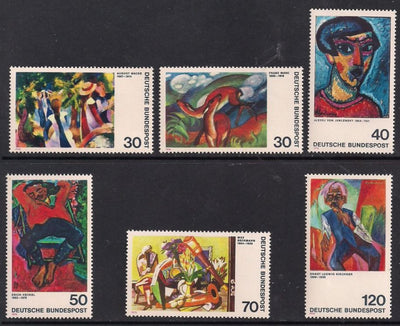 Germany 1135-1140 MNH - Art - Paintings
