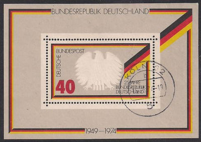 Germany 1145 Used - ‭Federal Republic of Germany, 25th Anniversary