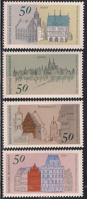 Germany 1196-1199 MNH - Architecture