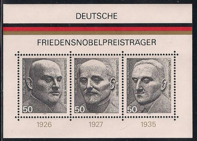 Germany 1203 MNH - Nobel Prize Winners