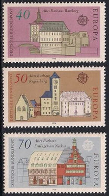 Germany 1270-1272 MNH - Europa - Buildings