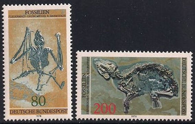 Germany 1275-1276 MNH - Fossils