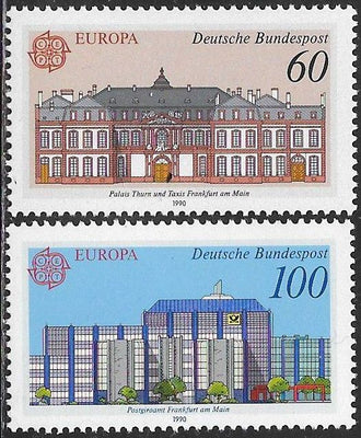 Germany 1601-1602 MNH - Europa - Post Offices