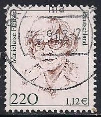 Germany 1730 Used - Famous Women - Marieluise Fließer