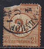 Germany 19 Used - Numeral - Space Filler
